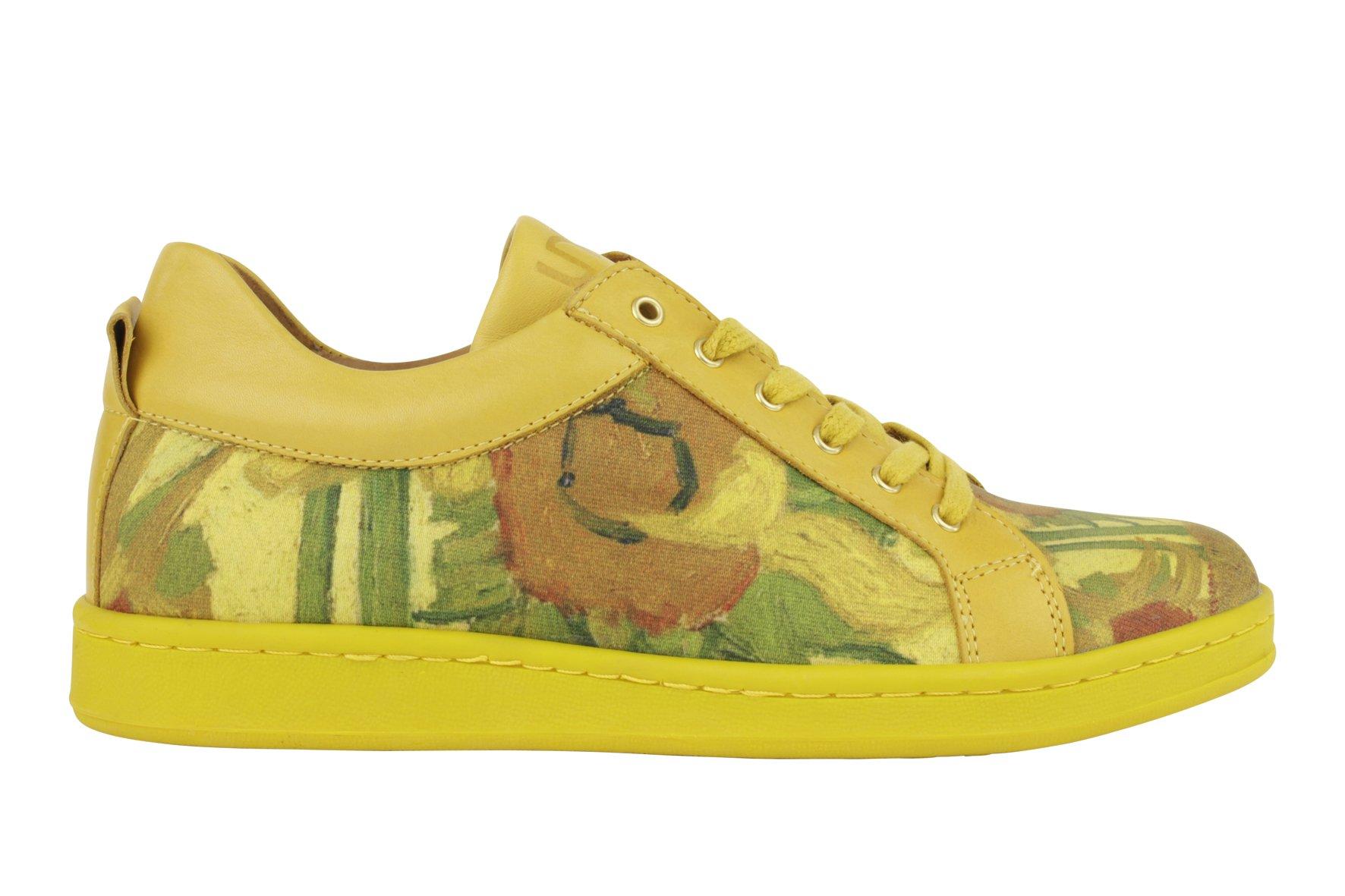 van gogh sneaker sunflower