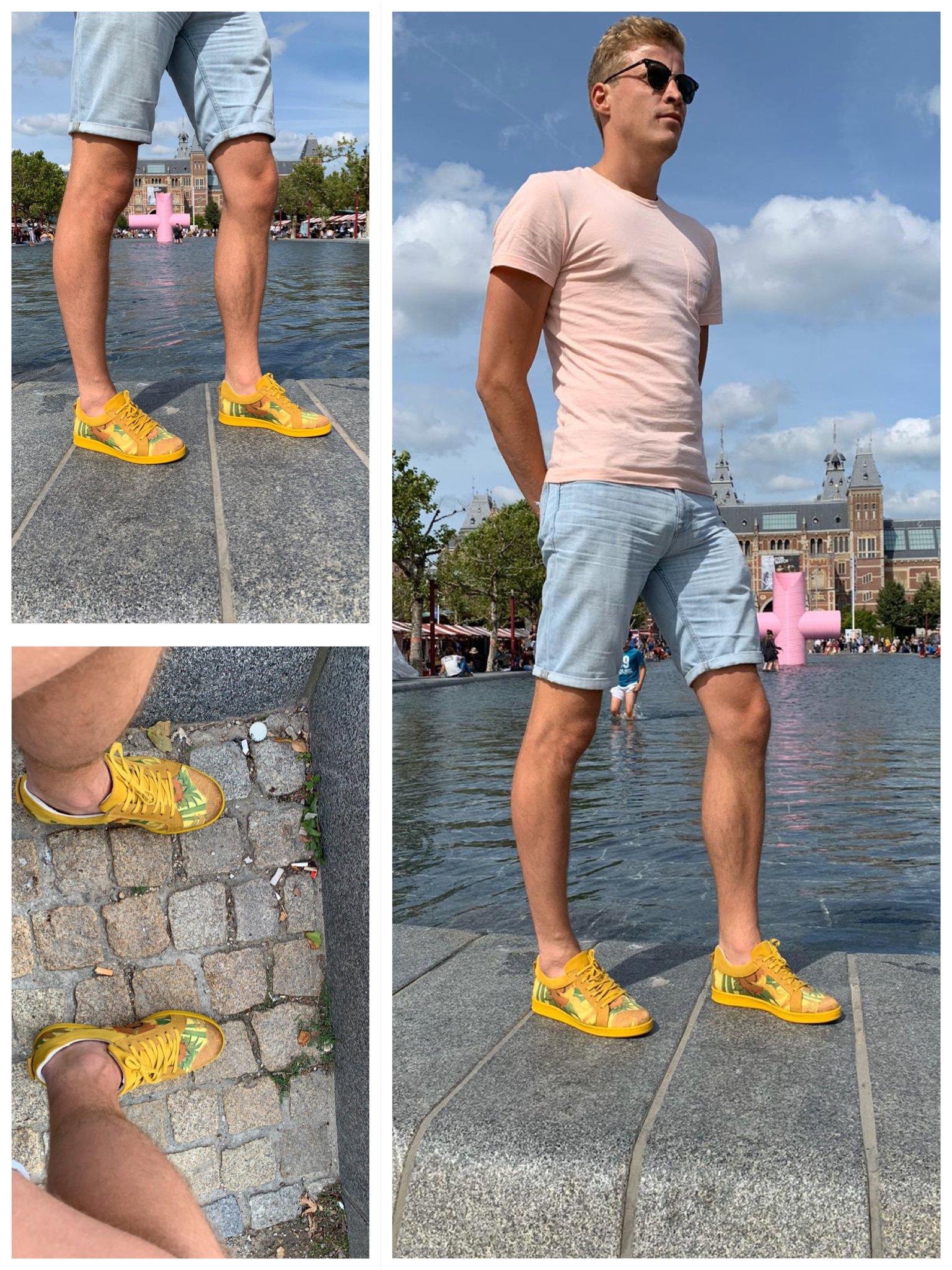 art sneaker vincent van gogh zonnebloemen