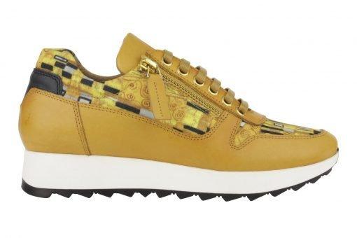 gele sneaker Gustav Klimt