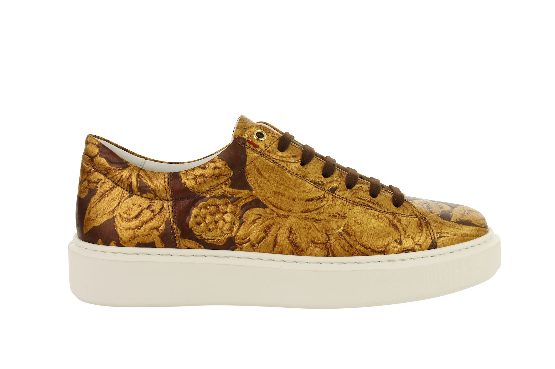 Falco sneaker Gold leather van Soest from LINKKENS