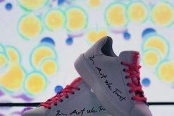 moco sneaker in art we trust